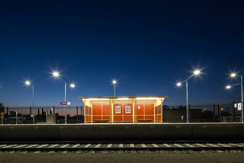 Epsom Station Bendigo for Ducon Construction © Michael Evans Photographer 2014