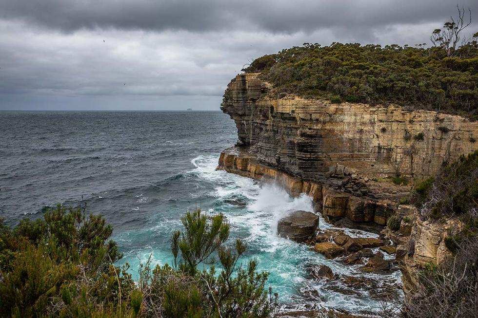 Dramatic seascape, Tasmania © Michael Evans Photographer 2015 - www.michaelevansphotographer.com
