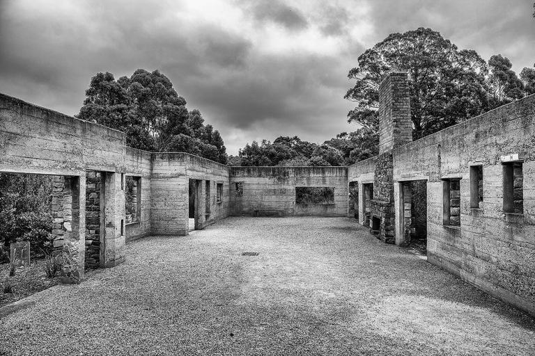 The old café at Port Arthur © Michael Evans Photographer 2015 - www.michaelevansphotographer.com