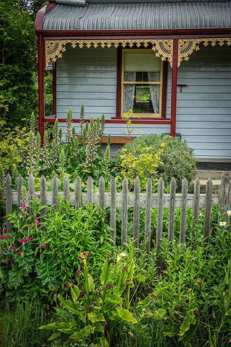 Cottage garden at Port Arthur © Michael Evans Photographer 2015 - www.michaelevansphotographer.com