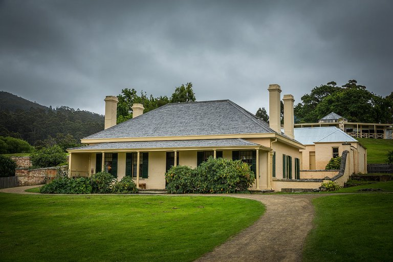 Doctors house at Port Arthur © Michael Evans Photographer 2015 - www.michaelevansphotographer.com