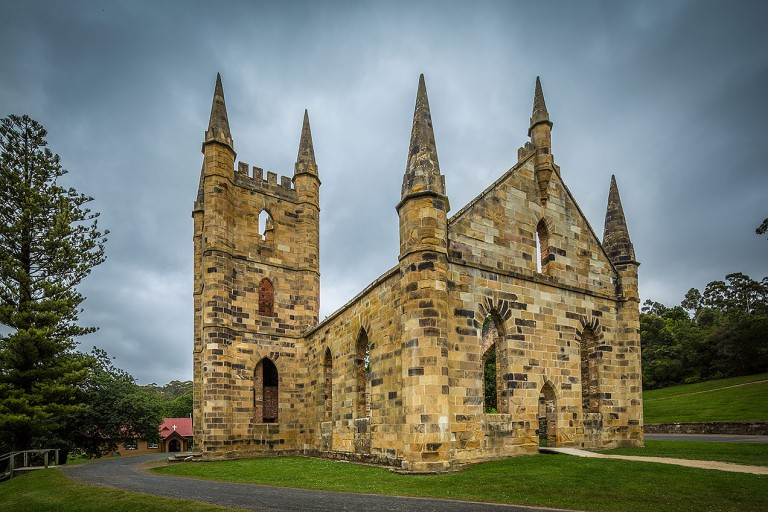 Church at Port Arthur © Michael Evans Photographer 2015 - www.michaelevansphotographer.com