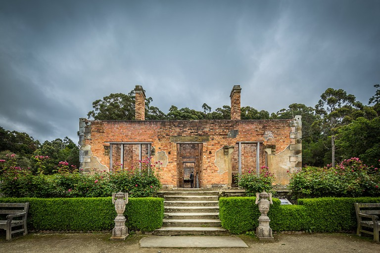 Building at Port Arthur © Michael Evans Photographer 2015 - www.michaelevansphotographer.com