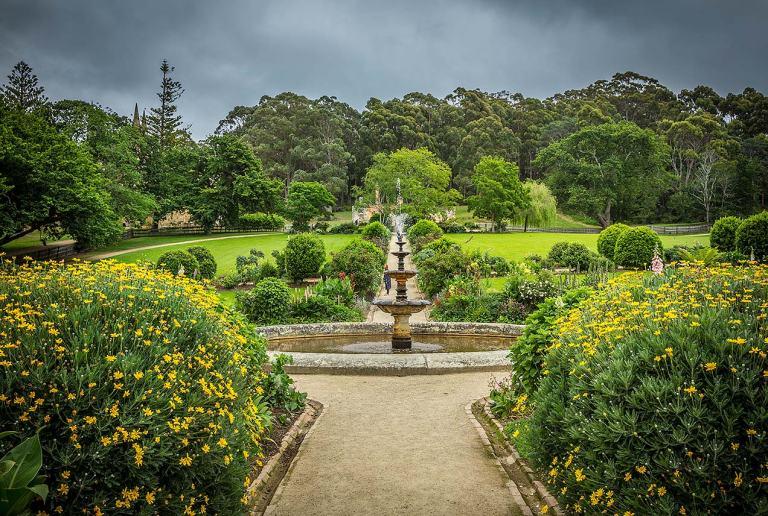 Port Arthur gardens © Michael Evans Photographer 2015 - www.michaelevansphotographer.com