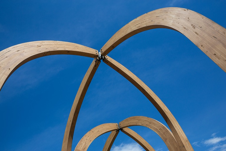 Arch sculpture in the park © Michael Evans Photographer 2015 -