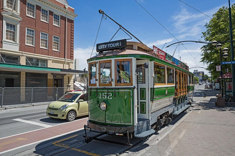 Christchurch tram © Michael Evans Photographer 2015 -