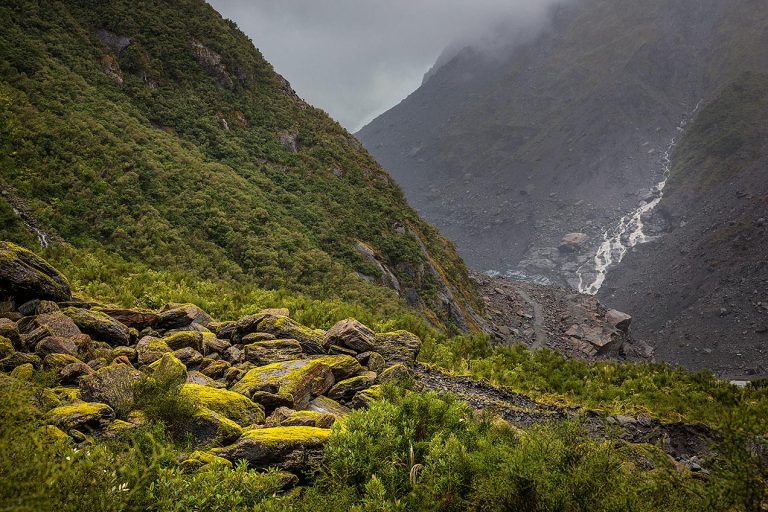 Overlooking Fox Glacier © Michael Evans Photographer 2015