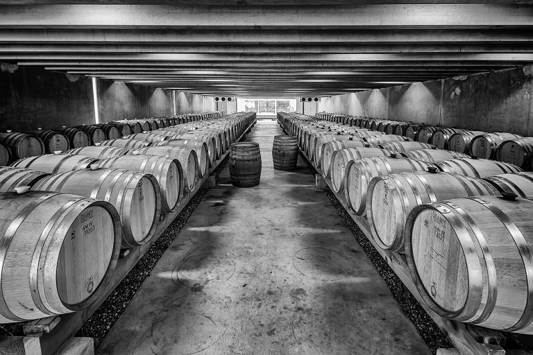 Peregrine Wines cellar © Michael Evans Photographer 2015