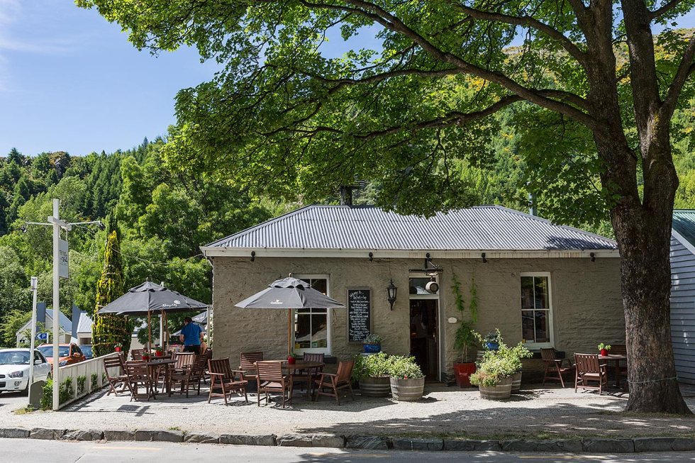 The Fork and Tap pub, Arrowtown, New Zealand © Michael Evans Photographer 2015