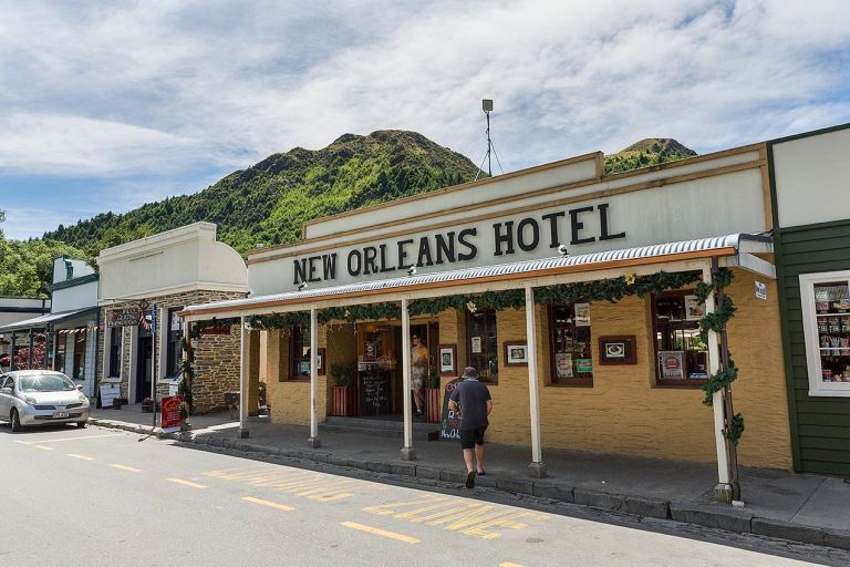 Arrowtown shops  © Michael Evans Photographer 2015