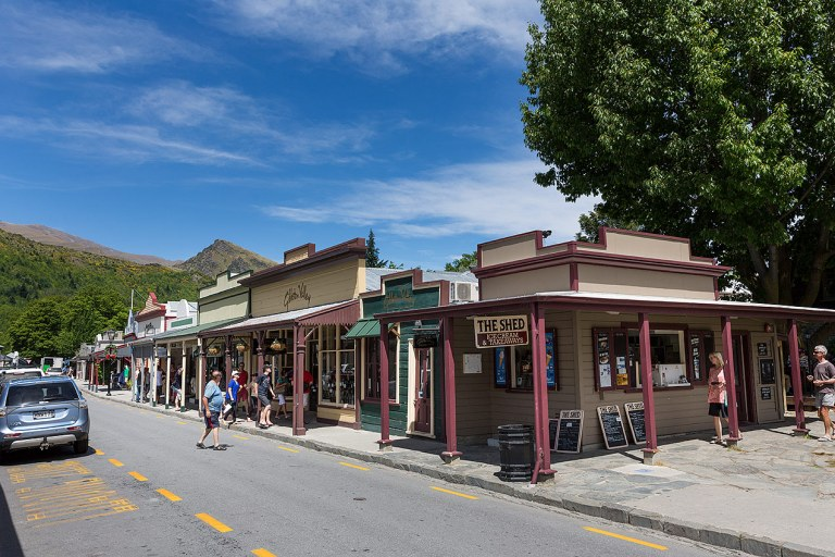 The main street of Arrowtown © Michael Evans Photographer 2015
