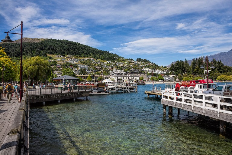The lovely town of Queenstown© Michael Evans Photographer 2015