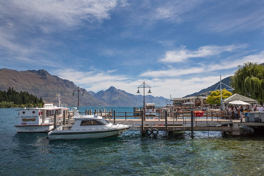 View from Queenstown harbour© Michael Evans Photographer 2015