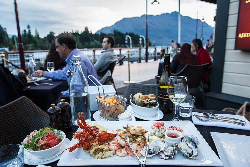 Seafood platter in Queenstown, New Zealand © Michael Evans Photographer 2015
