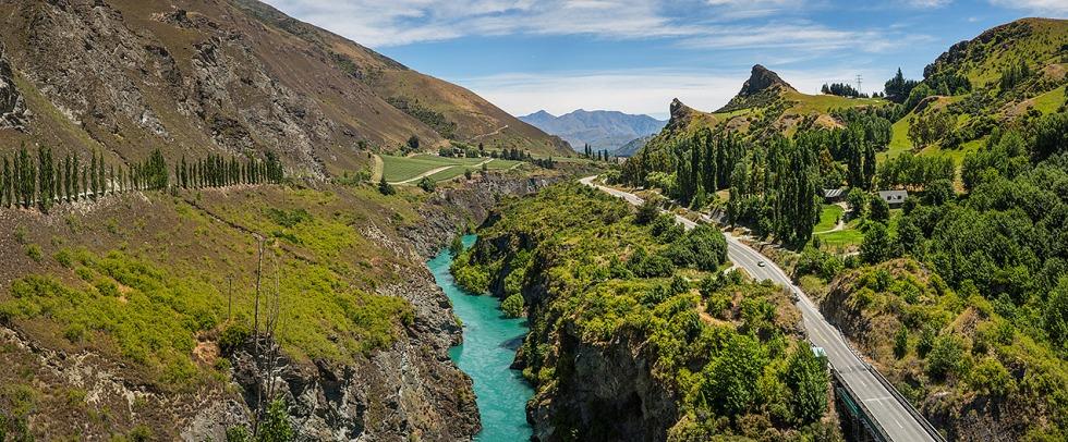 Chard Farm Winery, Central Otago, New Zealand © Michael Evans Photographer 2015