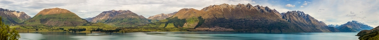 Panoramic view of Lake Wakatipu  © Michael Evans Photographer 2015