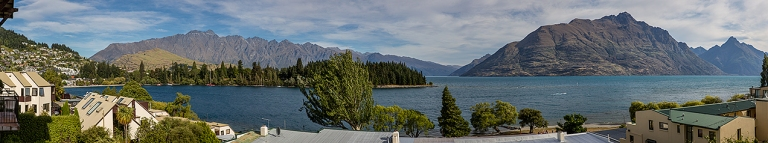 Panoramic view from the St Moritz bar, Queenstown, New Zealand © Michael Evans Photographer 2015