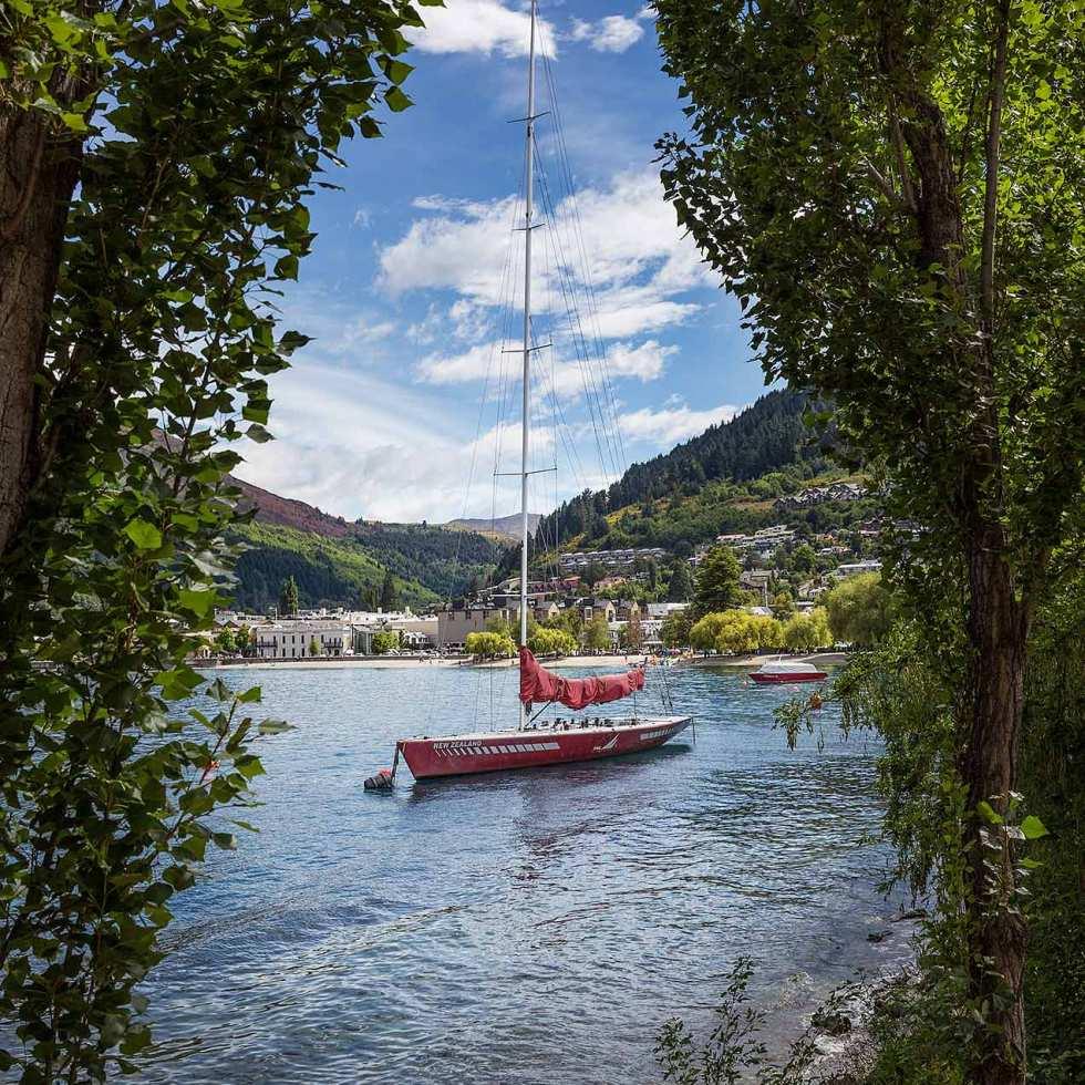 Queenstown harbour, New Zealand © Michael Evans Photographer 2015