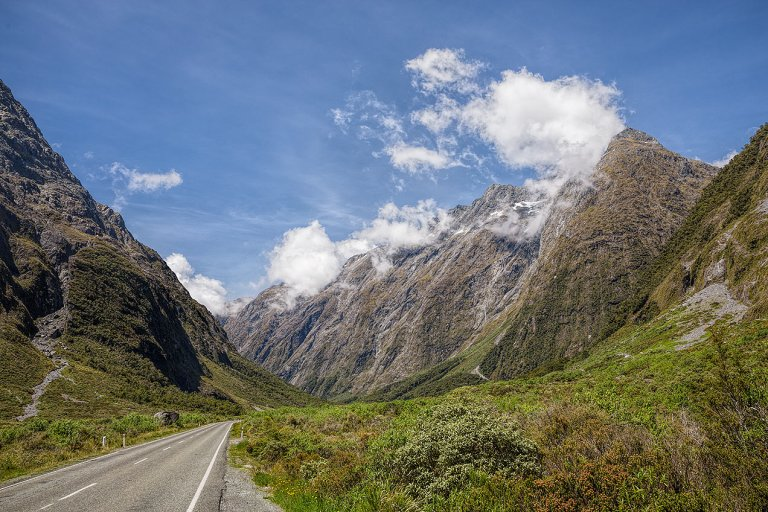 On the road to Milford Sound... © Michael Evans Photographer 2015