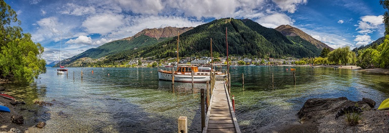 Queenstown harbour, New Zealand © Michael Evans Photographer 2015