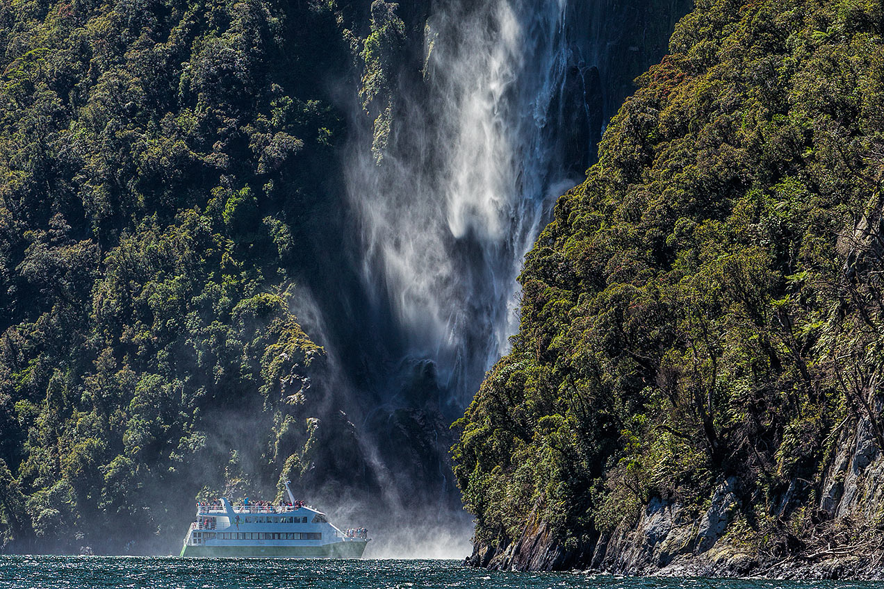 Milford Sound, New Zealand © Michael Evans Photographer 2015