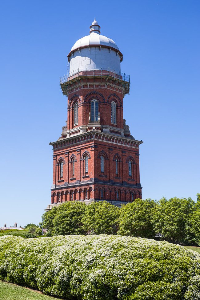 Water tower in Invercargill © Michael Evans Photographer 2015