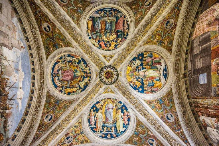 Vatican Museum Ceiling detail - © Michael Evans Photographer 2015