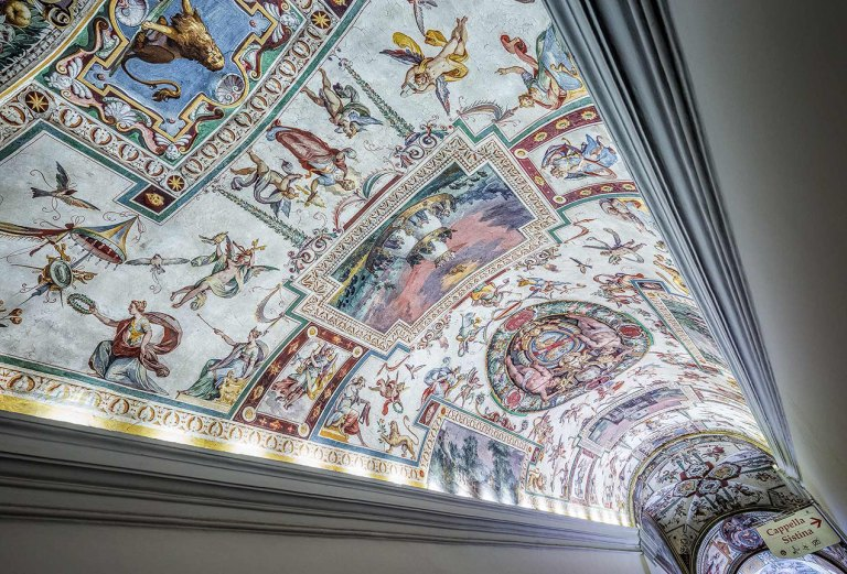 Vatican Museum Ceiling detail - © Michael Evans Photographer 2015
