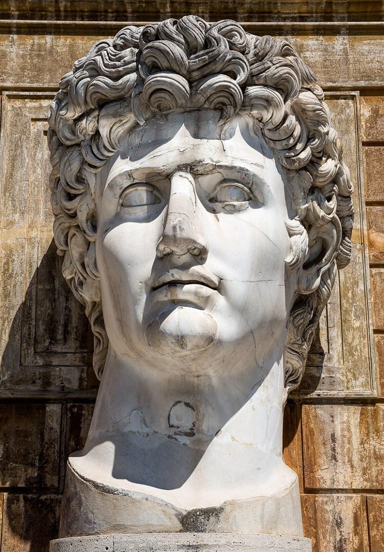 Ceasar Augustus at the Cortile del Belvedere- © Michael Evans Photographer 2015