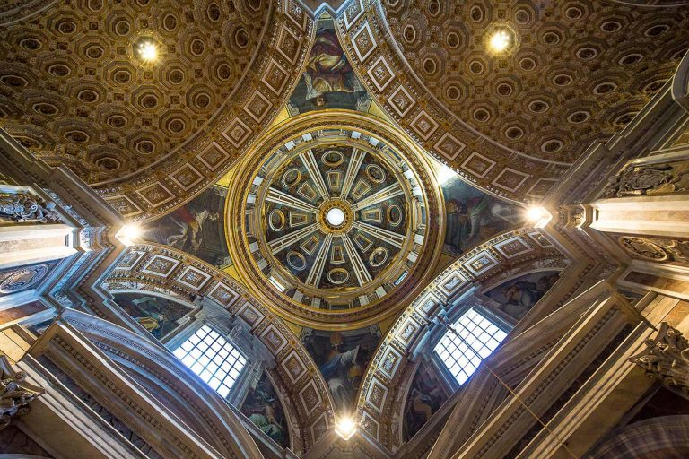 Inside St Peter's Basilica, Rome © Michael Evans Photographer 2015