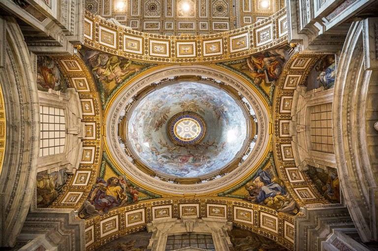 St Peter's Basilica, Rome- © Michael Evans Photographer 2015