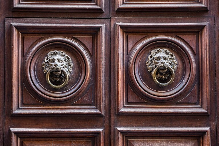 Lion Door knockers, Rome- © Michael Evans Photographer 2015