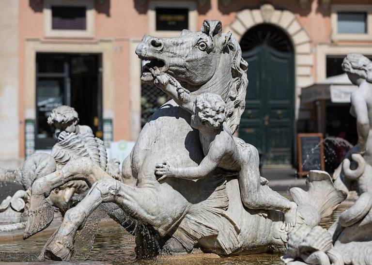 Piazza Navona, Rome- © Michael Evans Photographer 2015
