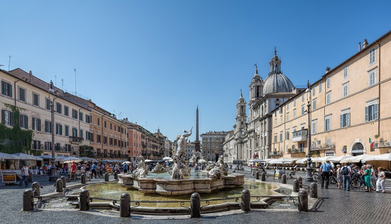 Piazza Navona, Rome - © Michael Evans Photographer 2015
