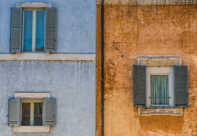 Windows in Rome - © Michael Evans Photographer 2015