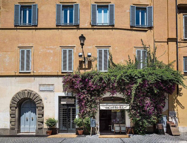 Restaurant in Rome - © Michael Evans Photographer 2015