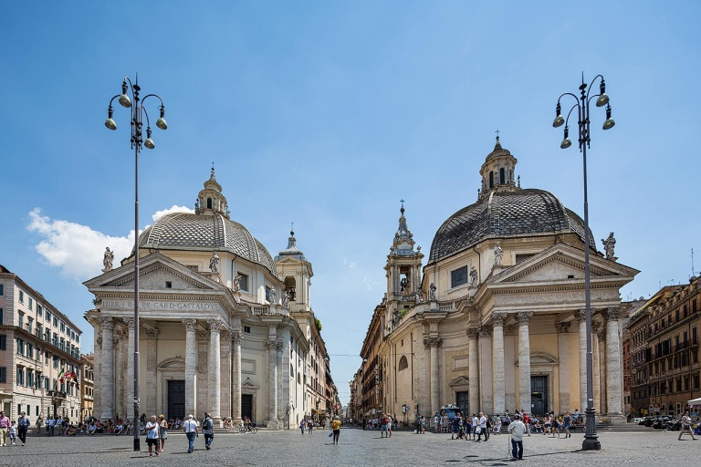 Piazza del Popolo - © Michael Evans Photographer 2015