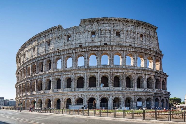 The Colosseum in Rome - © Michael Evans Photographer 2015