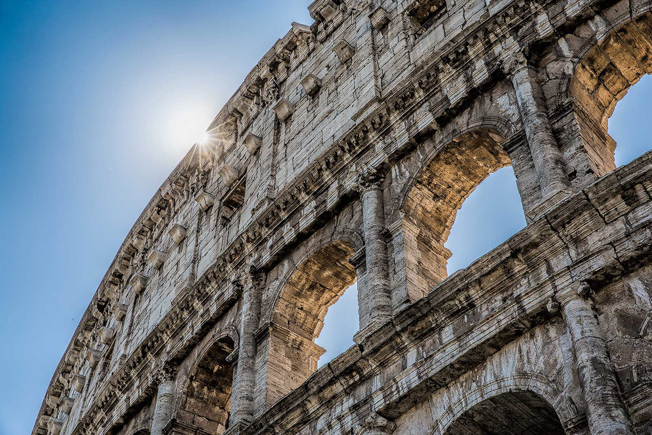 Close up of the Colosseum, Rome © Michael Evans Photographer 2015