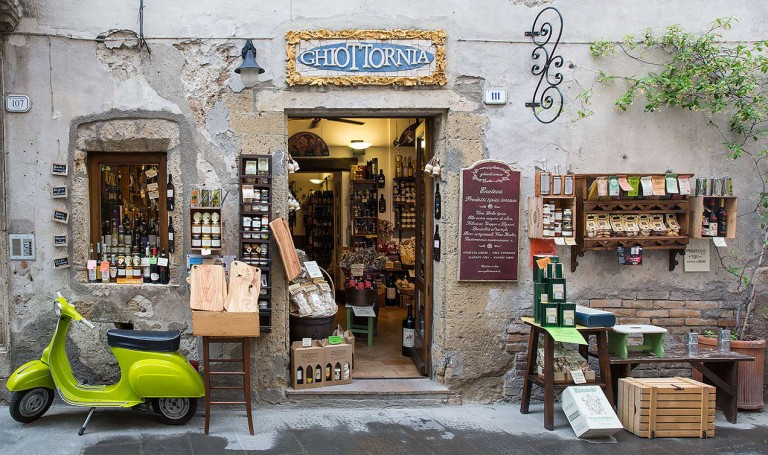 Delicatessen in Pitigliano © Michael Evans Photographer 2015