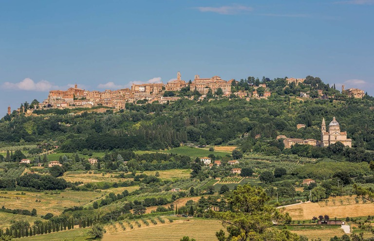 Montepulciano, Tuscany - © Michael Evans Photographer 2015