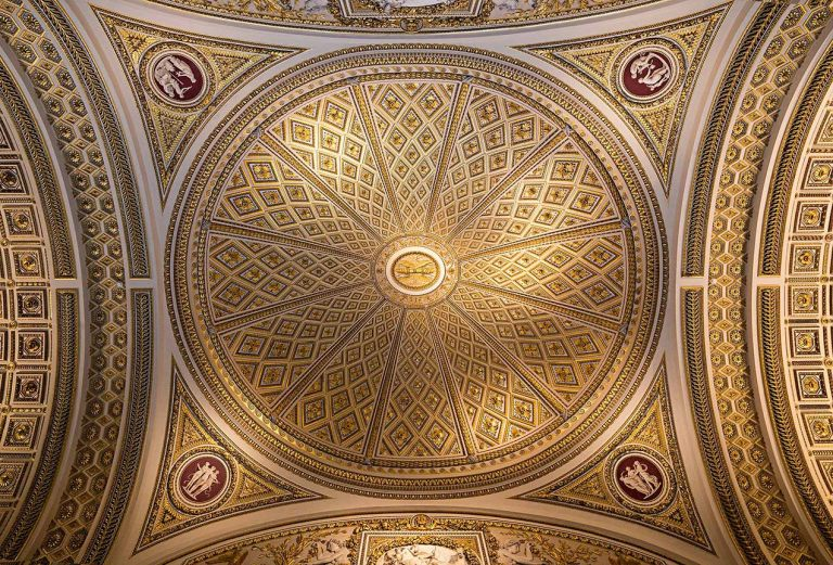 Ceiling in the Uffizi Museum, Florence - © Michael Evans Photographer 2015