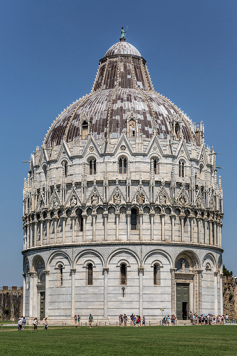 The Pisa Baptistry - © Michael Evans Photographer 2015