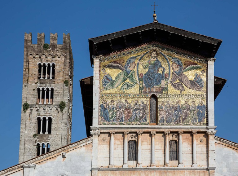 Basilica of San Frediano, Lucca - © Michael Evans Photographer 2015