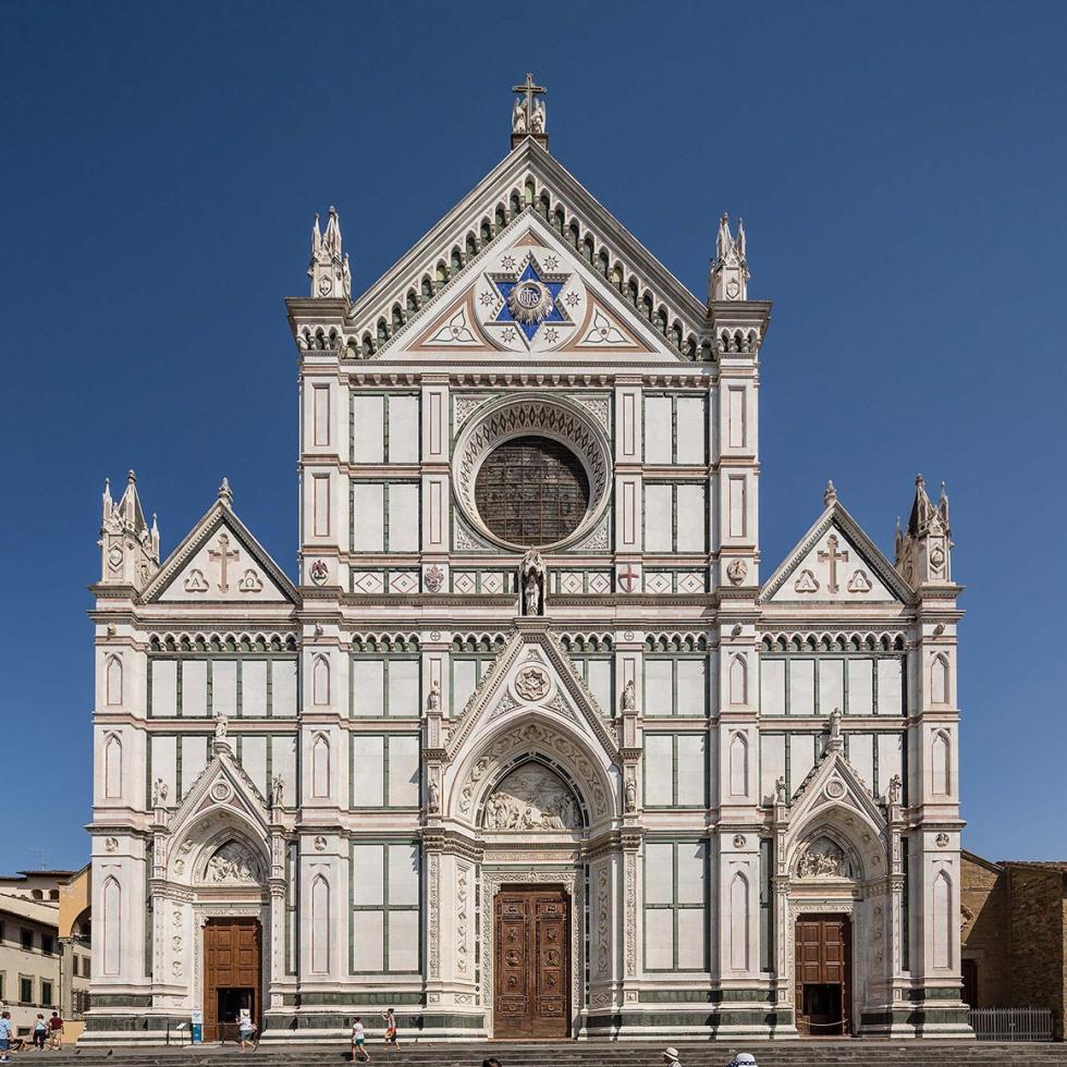 Basilica di Santa Croce, Florence- © Michael Evans Photographer 2015