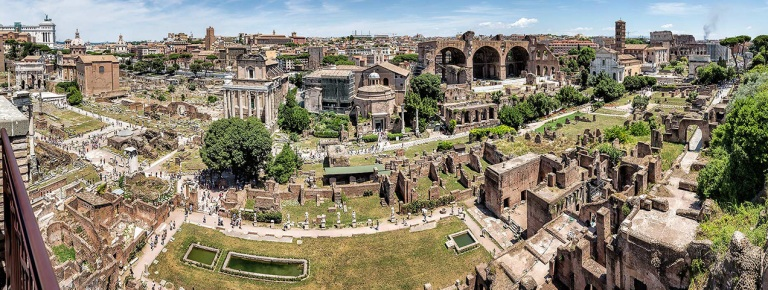 The forum in Rome - © Michael Evans Photographer 2015