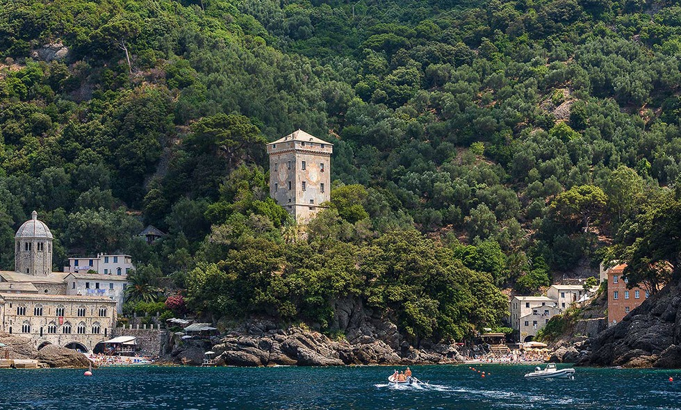 San Fruttuoso Abbey in Camogli, near Portofino - © Michael Evans Photographer 2015