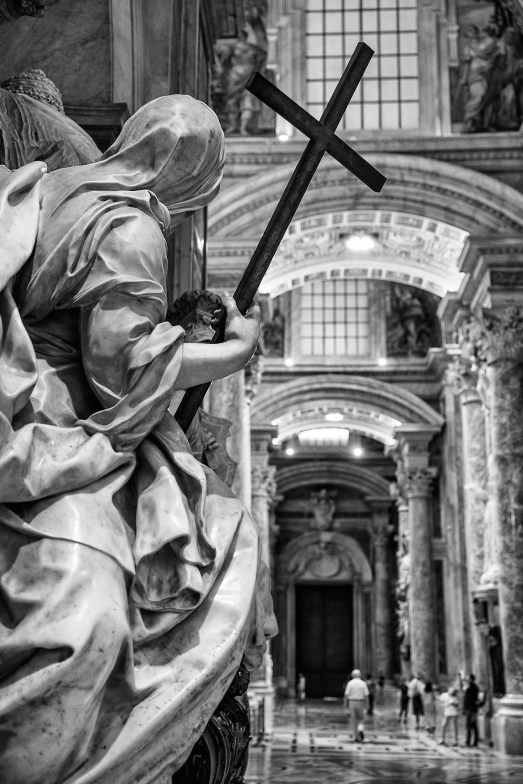Inside St Peter's Rome © Michael Evans Photographer 2016