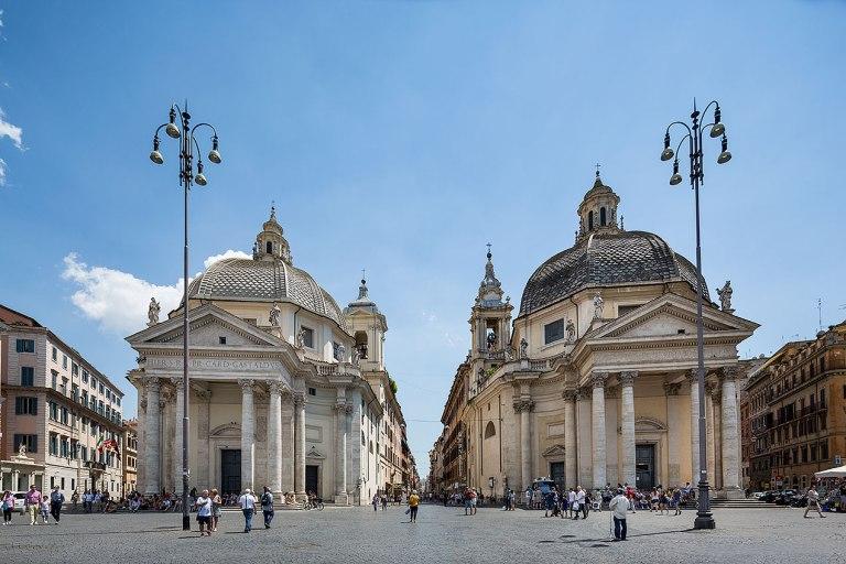 Piazza del Popolo, Rome © Michael Evans Photographer 2016