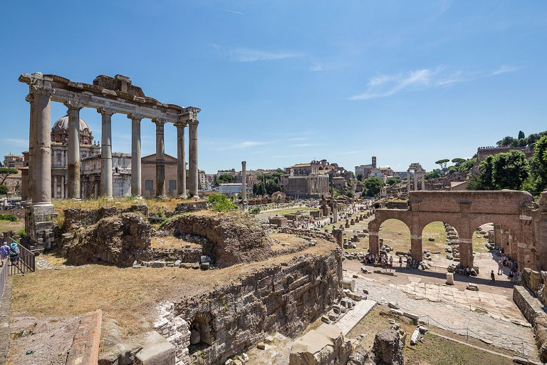The Forum, Rome © Michael Evans Photographer 2016